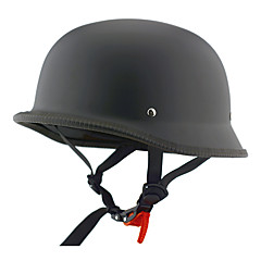 오토바이 반 얼굴 헬멧 검은 서리 낀 복근 순양함 거리 헬멧
