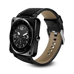 tanie Inteligentne zegarki-Inteligentny zegarek na iOS / Android Pulsometr / Spalone kalorie / Długi czas czuwania / Odbieranie bez użycia rąk / Ekran dotykowy Powiadamianie o połączeniu telefonicznym / Rejestrator aktywności