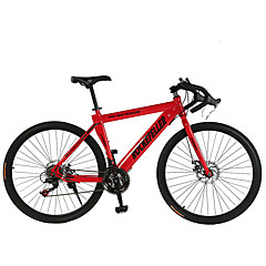 כביש אופניים רכיבת אופניים 21 מהיר 700CC/26 אינץ' SHIMANO TX30 דיסק בלימה כפול רגיל רגיל פלדה