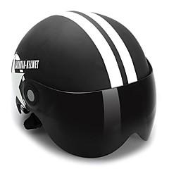 오픈 페이스 단순한 ABS 오토바이 헬멧