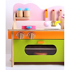 billiga Leksakskök och -mat-Toy köksutrustning Trä Barn Pojkar Flickor Leksaker Present 1 pcs