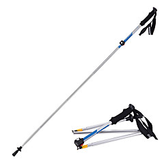 cheap Trekking Poles-5 Nordic Walking Poles 135cm (53 Inches) Damping Foldable Adjustable Fit Light Weight Aluminum Alloy 7075 Camping / Hiking Snowsports