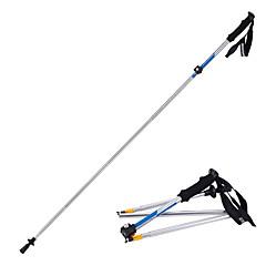 5 Hůlky na nordic walking 135 cm (53 palců) Tlumení Složitelný Nastavitelné Nízká hmotnost Slitina hliníku 7075Outdoor a turistika Lyžáky