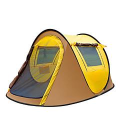 3-4 personer Telt Tilbehør for Telt Strandtelt Enkelt camping Tent Ett Rom Pop opp telt Hold Varm Fukt-sikker Velventilert Vanntett