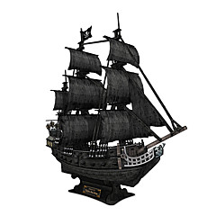 cheap -3D Puzzles Ship Pirate Ship Black Pearl Fun 1pcs Classic Pirates Kid's Gift