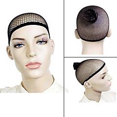tanie Peruki syntetyczne-Wig Accessories Plastikowy Siatki pod perukę Codzienny Klasyczny Czarny