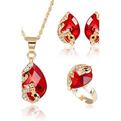 Pentru femei Seturi de bijuterii Seturi de bijuterii de mireasă Ștras Zirconiu Cubic Modă Euramerican Nuntă Petrecere Ocazie specială