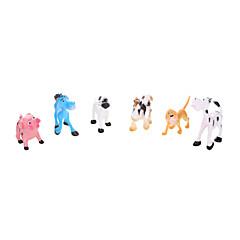 Bildungsspielsachen Spielzeuge Tiere Jungen Mädchen 6 Stücke