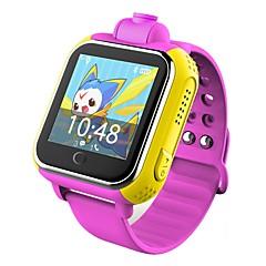 tanie Inteligentne zegarki-Zegarki dziecięce YYQ730 na Android iOS 3G 2G GPS Sport Wodoodporny Ekran dotykowy Długi czas czuwania Rejestrator aktywności fizycznej Budzik / Odbieranie bez użycia rąk / 1 MP / 256 MB / Kamera