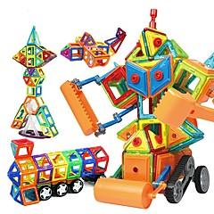 tanie Klocki magnetyczne-Blok magnetyczny Klocki 168 pcs Robot Pojazd budowalny Magnetyczne Zrób to Sam Edukacja Dla chłopców Dla dziewczynek Zabawki Prezent