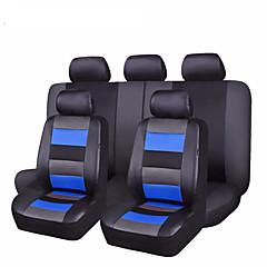billige Setetrekk til bilen-Setetrekk til bilen Setetrekk Rød / Blå Lær Vanlig Til