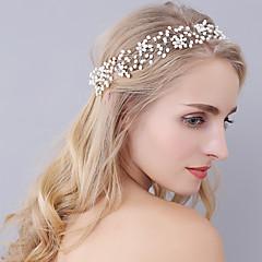 cheap Party Headpieces-Tiaras Headbands Headpiece Wedding Party Elegant Feminine Style