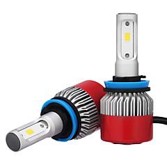 billige Frontlykter til bil-2pcs H8 H11 H9 Bil Elpærer 36W W Integrert LED 3600lm lm LED Hodelykt