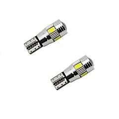hesapli -3w beyaz bule kırmızı sarı dc12v t10 canbus 6smd 5630 len hata yok araba ledli ampul boşluk ışıkları 2adet