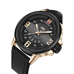 Bărbați Ceas Sport Ceas Militar  Ceas La Modă Ceas de Mână Ceas Casual Japoneză Quartz Calendar Mare Dial PU Bandă Lux Creative Casual