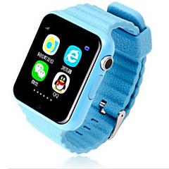 billige Smartklokker-v7k Barneklokker Android iOS Other GPS Sport Vanntett APP-kontroll Lang Standby Aktivitetsmonitor / Kamera / Pedometere / Finger Sensor / MTK2503 / Anti-lost