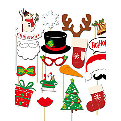 Christmas Hard Card Paper Wedding Decorations