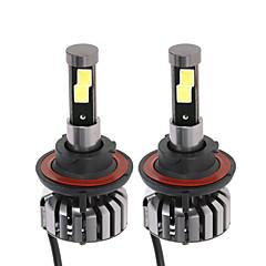 billige Frontlykter til bil-2pcs H13 Bil Elpærer 40W W 4000lm lm LED Hodelykt ForUniversell