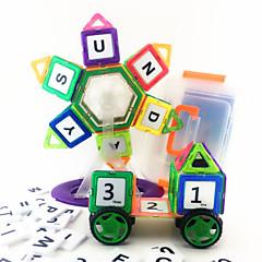 צעצועים מגנטיים אבני בניין פאזלים3D פאזל רכב צעצועים למבוגרים צעצועים לנסיעות בלוקים מגנטיים צעצועי מדע וגילויים צעצוע חינוכי מקל מתחים