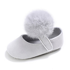 Children's Baby Shoes Fabric Spring/Fall Casual Casual/Daily Birthday Lovely Comfort Flats Magic Tape for Christmas Gifts Christmas Party