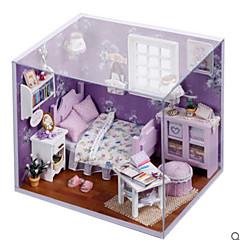 장난감 DIY 집 플라스틱 주택 프린세스 조각 규정되지 않음 생일 선물