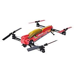 RC Drone XK V383 6CH 6 Akse 2.4G - Fjernstyrt quadkopter LED-belysning Auto-Takeoff Flyvning Med 360 Graders Flipp Sveve Fjernstyrt