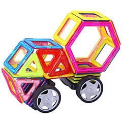 Magnetspielsachen Bausteine 3D - Puzzle Holzpuzzle Fahrzeug Spiele für Erwachsene Reisebrettspiele Magnetische Bauklötze Wissenschaft &