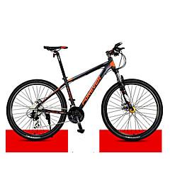 אופני הרים רכיבת אופניים 30 מהיר 27 אינץ ' MICROSHIFT 24 דיסק בלימה כפול מזלג שיכוך שלדת סגסוגת אלומיניום רגיל נגד החלקה אלומיניום