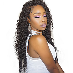 cheap Wigs & Hair Pieces-Remy Human Hair Glueless Full Lace Full Lace Wig Brazilian Hair 360 Frontal Wig 180% Density with Baby Hair Natural Hairline African American Wig 100% Hand Tied Pre-Plucked Women's Short Medium