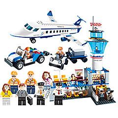 billiga Leksaker och spel-GUDI Leksaksbilar / Byggklossar Flygplan / Flygplats Unisex Present