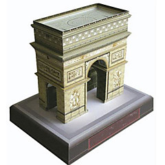 cheap -3D Puzzle Paper Model Famous buildings DIY Hard Card Paper Kid's Unisex Gift
