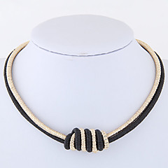 Dámské Obojkové náhrdelníky Slitina Módní Euramerican Šperky Pro Denní Ležérní