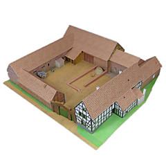 tanie Gry i puzzle-Zabawki 3D / Papierowy model / Model Bina Kitleri Znane budynki majsterkowanie / Symulacja Klasyczny Dla obu płci Prezent
