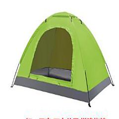 billige Telt og ly-2 personer Telt Enkelt camping Tent Brette Telt Hold Varm Ultraviolet Motstandsdyktig til 1500-2000 mm Okse horn Stretch sateng CM