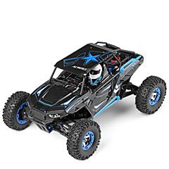 baratos Carros Controle Remoto-Carro com CR WLtoys 12428-B 2.4G Jipe (Fora de Estrada) / Rock Climbing Car / Off Road Car 1:12 Electrico Escovado 50 km/h KM / H
