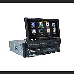 billiga DVD-spelare till bilen-7 inch 1 Din 800 x 480 Windows CE 6.0 Windows CE Bildvd-spelare för Universell Inbyggd Bluetooth GPS iPod RDS Rattstyrning Pekskärm