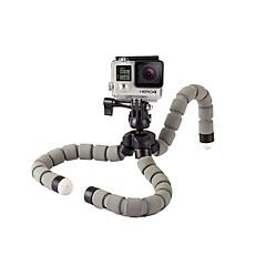 tanie Akcesoria do GoPro-Elastyczny statyw Na nóżkach Wielofunkcyjny Dla Action Camera Gopro 4 Inne Przypadkowy Mountaineering EVA