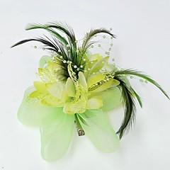 Síť Fascinátory   Klobouky   Doplňky do vlasů s Květiny 1ks Svatební    Zvláštní příležitosti Přílba 8336cacda7
