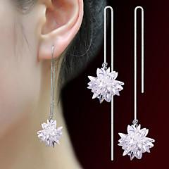Hoop Earrings Basic Crystal Jewelry For Wedding Anniversary Graduation Valentine 1 pair