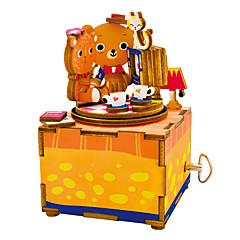 Puzzles Sets zum Selbermachen Holzpuzzle Bausteine Spielzeug zum Selbermachen Zeichentrick Komposit