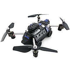 billige Fjernstyrte quadcoptere og multirotorer-RC Drone JJRC H40WH 2.4G Med HD-kamera 720P Fjernstyrt quadkopter En Tast For Retur / Hodeløs Modus / Flyvning Med 360 Graders Flipp
