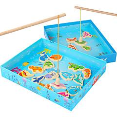 tanie Zabawa na dworze i sport-Zabawki rybackie Kwadrat Magnetyczne Dla dzieci Zabawki Prezent