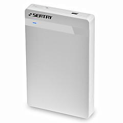 Zitplaats hds2130-w abs 2.5 inch usb3.0 sata externe doos wit gereedschapvrije installatie