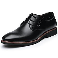 Homens Sapatos formais Couro Primavera / Outono Negócio / Conforto Oxfords Preto / Marron