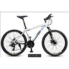 אופני הרים רכיבת אופניים 30 מהיר 27 אינץ ' MICROSHIFT 24 דיסק בלימה מזלג שיכוך שלדת סגסוגת אלומיניום אלומיניום אלומיניום