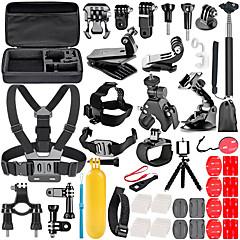 baratos Câmeras Esportivas & Acessórios GoPro-KIT / Acessórios Exterior / Dobrável / Screw-on Para Câmara de Acção Gopro 6 / All Action Camera / Todos Surfe / Esqui / Alpinismo PVC /