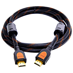 HDMI 2.0 Kabel, HDMI 2.0 to HDMI 2.0 Kabel Hann - hann Forgylt kobber 1.5M (5ft)