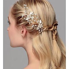 Crystal Imitation Pearl Hair Pin Headpiece Classical Feminine Style