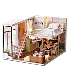 billiga Leksaker och spel-CUTE ROOM Modellbyggset GDS (Gör det själv) Känd byggnad Hus Plastik Klassisk Bitar Unisex Present