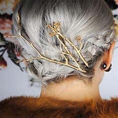 Eurooppa ja Yhdysvaltojen ulkomaankaupasta muoti fani sovittu muoti kevät kukat metallia haara naisten hiukset leikkeet leikkeet a0231